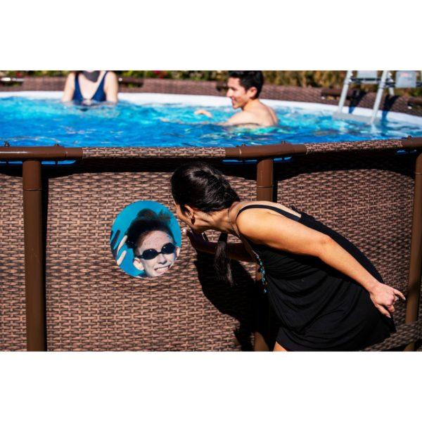 Coleman® 22′ x 52″ Power Steel Swim Vista Series II Swimming Pool Set
