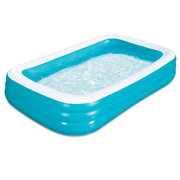 Play Day 10′ Family Inflatable Pool